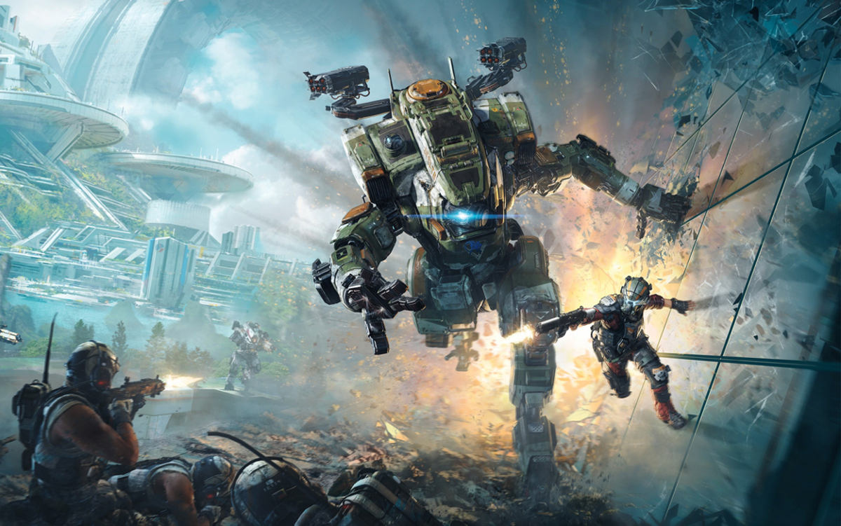 Titanfall 2 Dlc Angel City Most Wanted