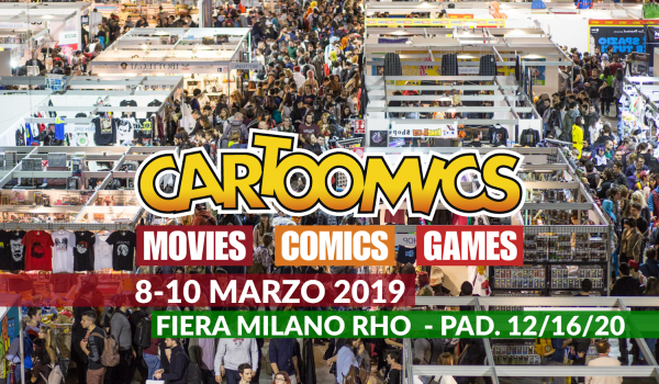 Ospiti Ed Eventi Al Cartoomics 2019 26 - Hynerd.it