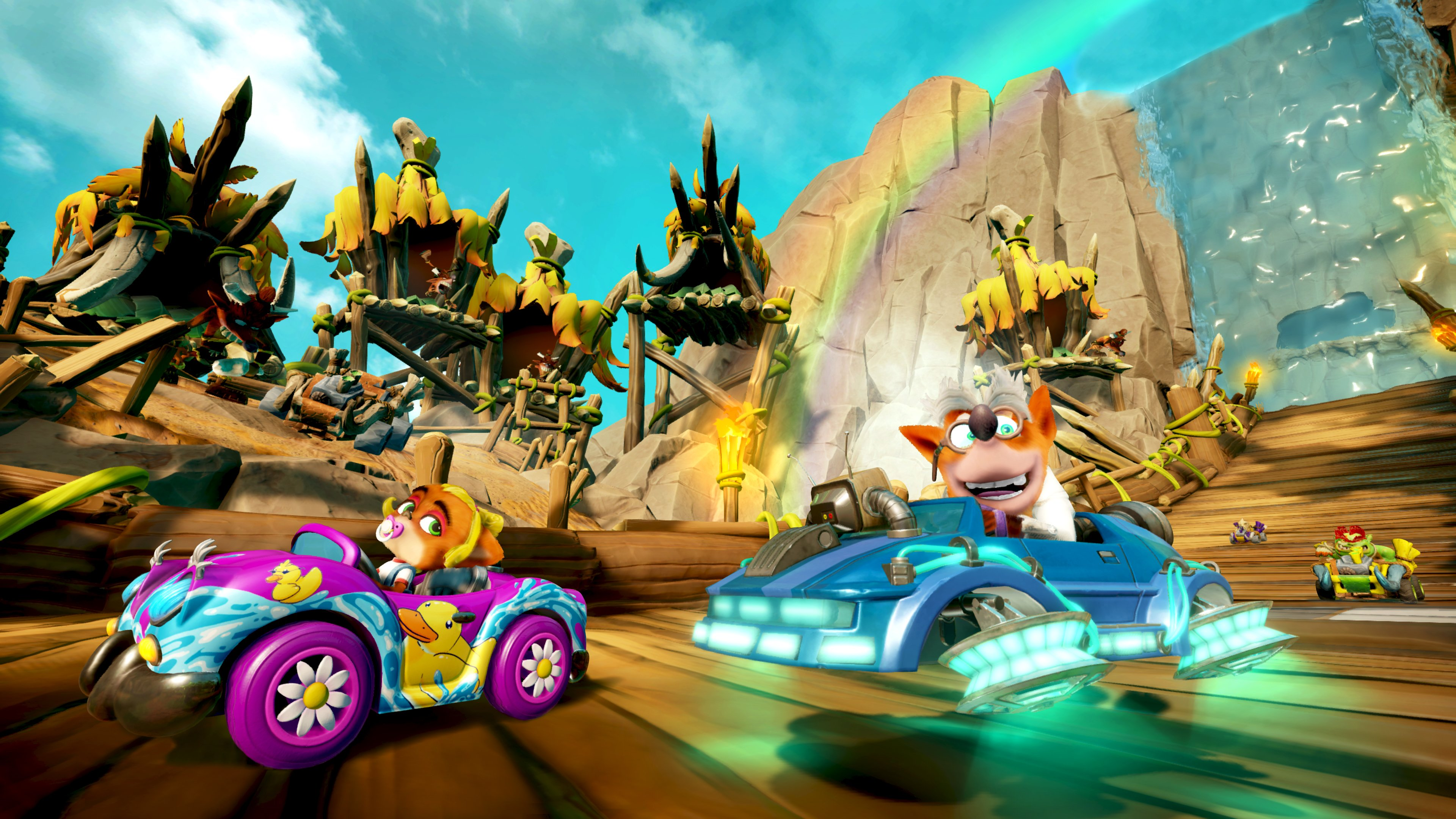 "Crash Team Racing Nitro-Fueled Annuncia ""Back N. Time"" Nel Prossimo Grand Prix! 4 - Hynerd.it"