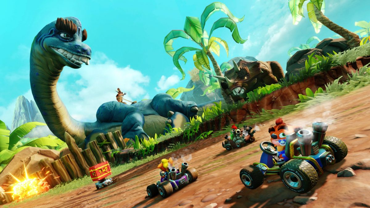 "Crash Team Racing Nitro-Fueled Annuncia ""Back N. Time"" Nel Prossimo Grand Prix!"