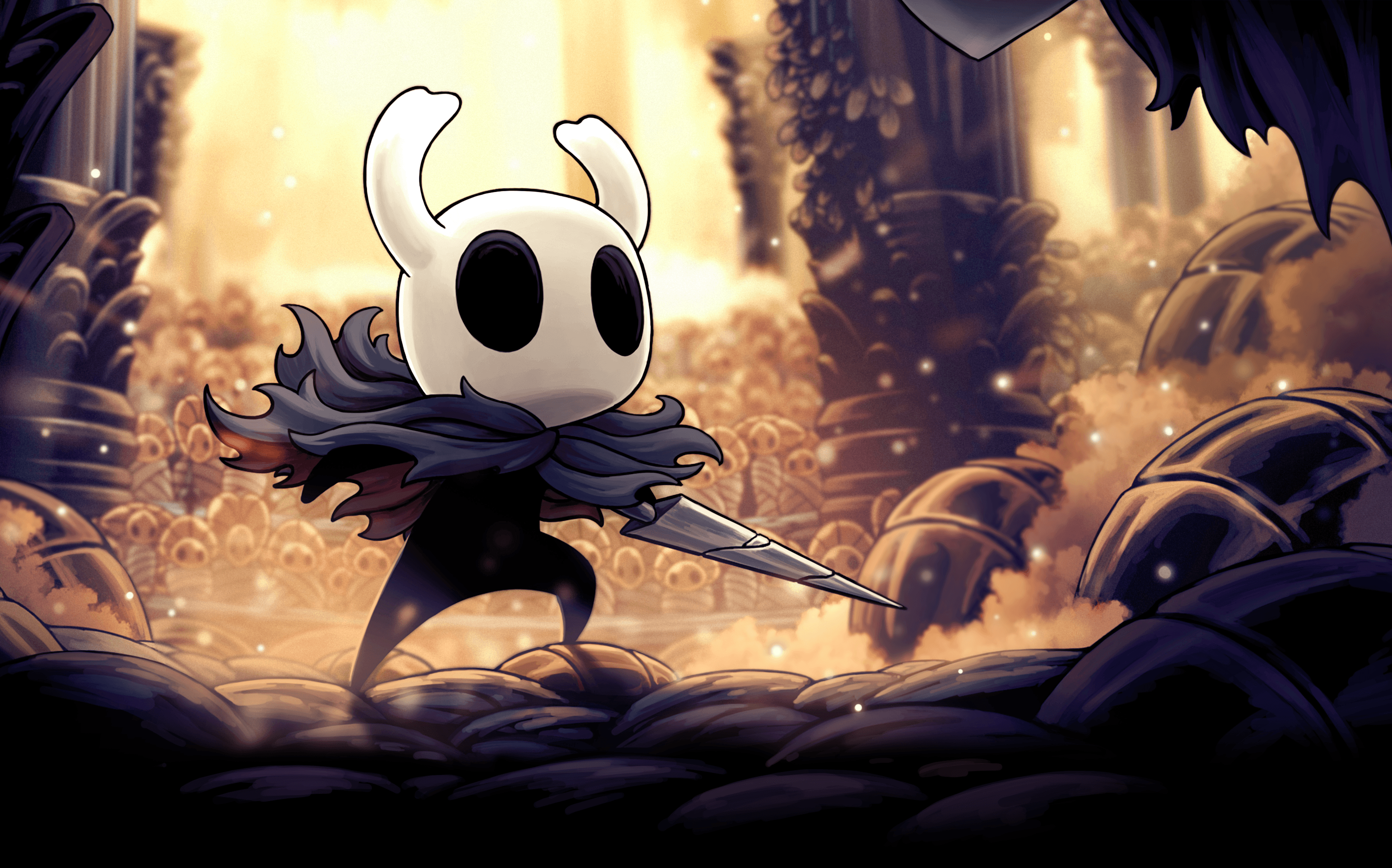 Immagine Promo Del Dlc God Master Di Hollow Knight